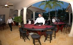 Casino Party Nights Florida, Inc. roulette table, corporate party, West Palm Beach, Florida