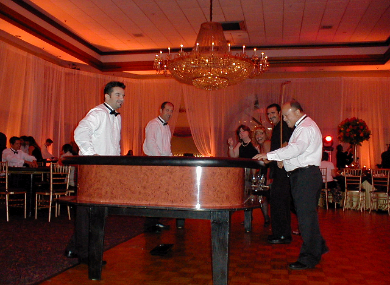 A holiday casino party in Signature Gardens, Miami, Florida