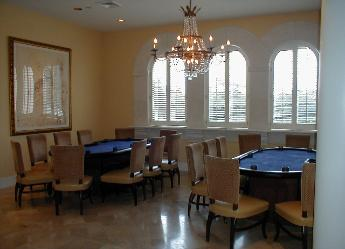 Poker tournament, Country Club, Addison, West Palm Beach, Florida